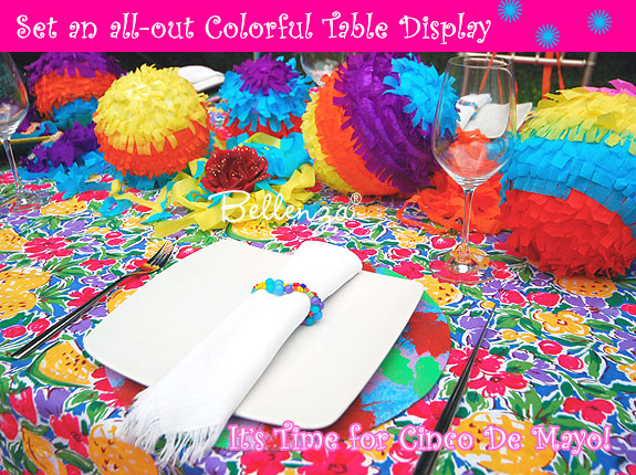 Cinco de Mayo Bridal Shower Decorations