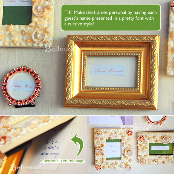 Fall Wedding Welcome Frame with RUstic Touches