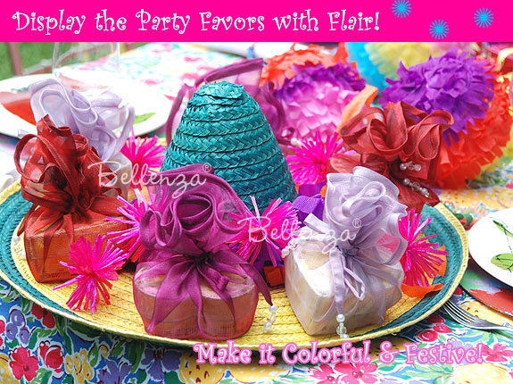 Cinco de Mayo Bridal Shower Centerpieces