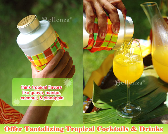 Stir up something cold and refreshing from pina coladas to pineapple daiquiries.