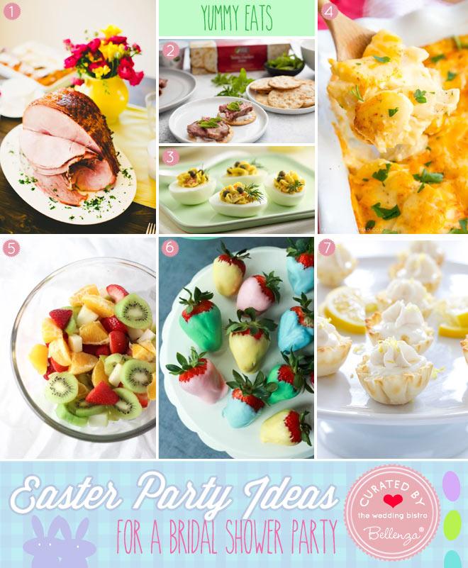 Easter Bridal Shower Food