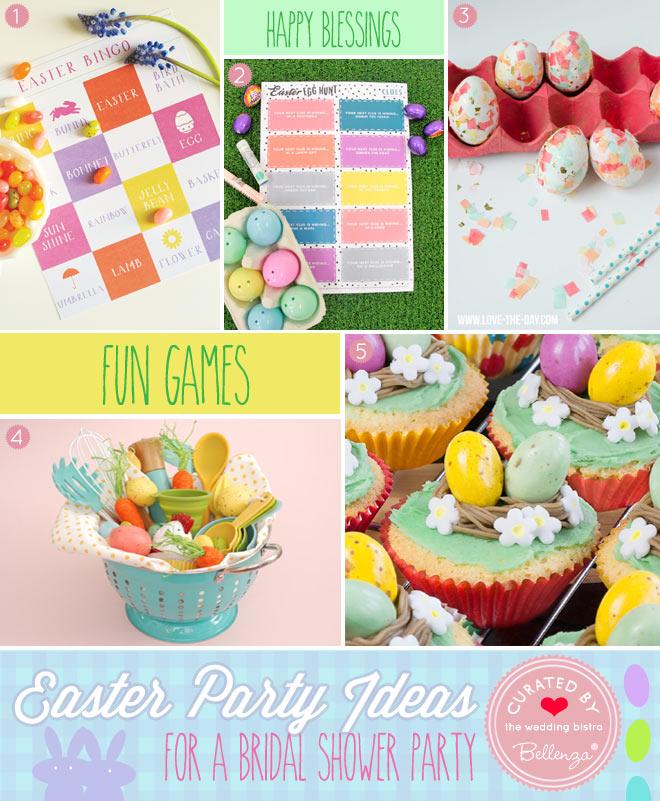 Easter Bridal Shower Games