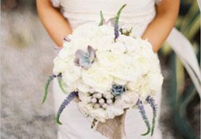 Boho glam winter bouquet