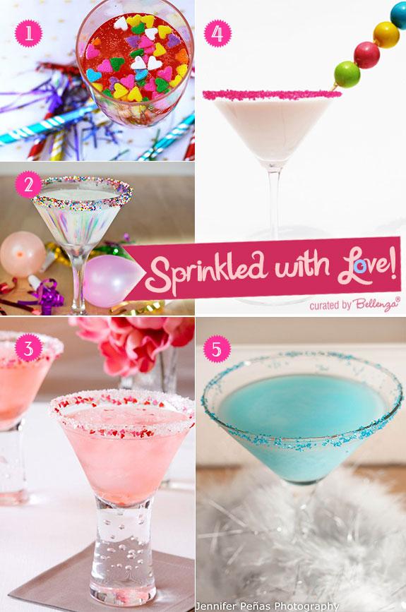 Signature cocktails for Valentine