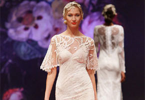 Amaryllis dress from Claire Pettibone