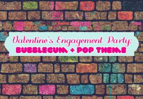 Bubblegum and pop Valentine