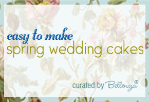 Easy spring cakes for weddings