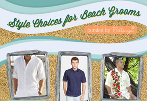 Style for beach grooms by Bellenza