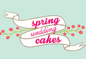 Floral spring cakes
