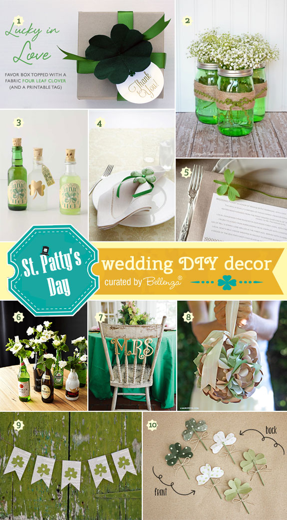 St. Patrick's Day DIY Wedding Decorations!