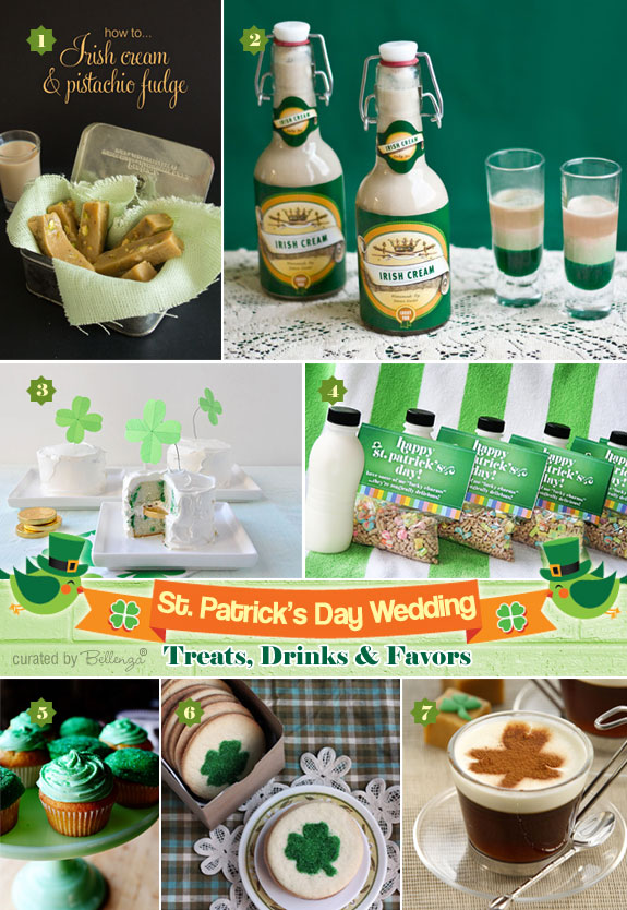 Treats and Favors to Make for a St. Patrick's Day Wedding