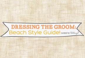 Beach groom wear guide from Bellenza Wedding Bistro