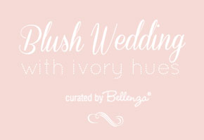 Blush wedding palette