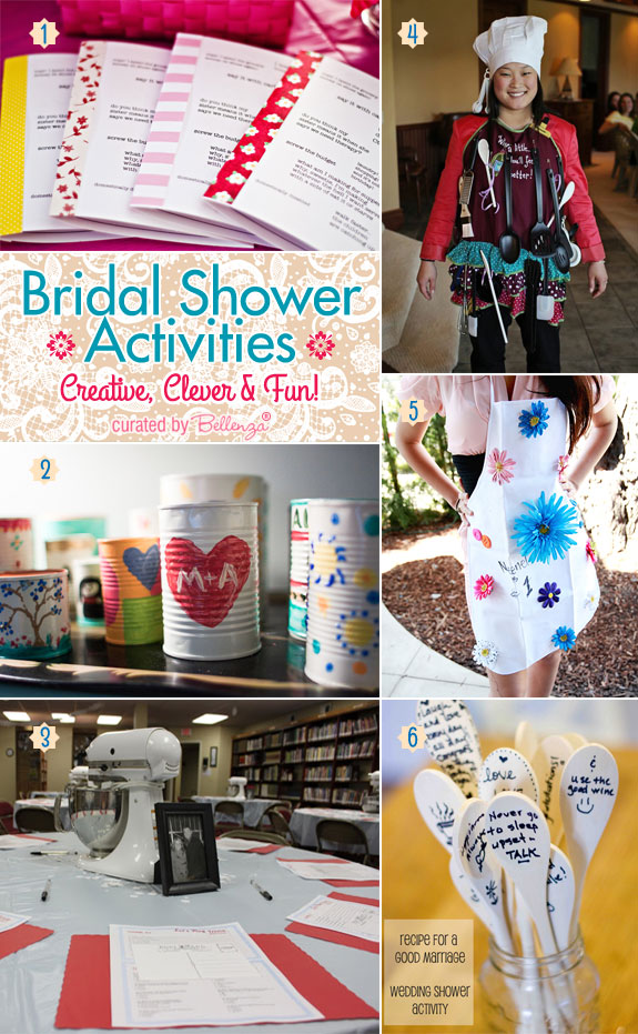 Planning a Bridal Shower? Make it Fun with Bridal Shower Activities From Interactive to Crafty!
