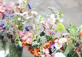 English country wild flowers for weddings