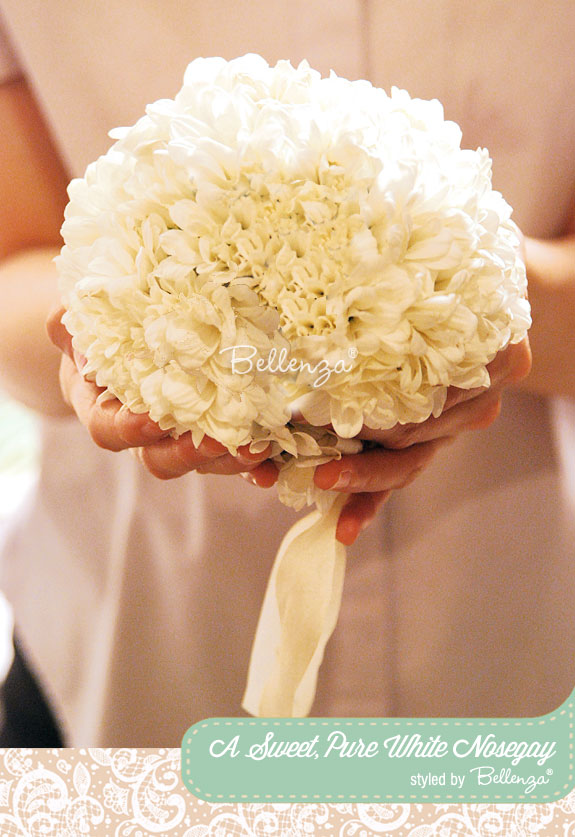 Nosegay bouquet | as styled by the Wedding Bistro at Bellenza