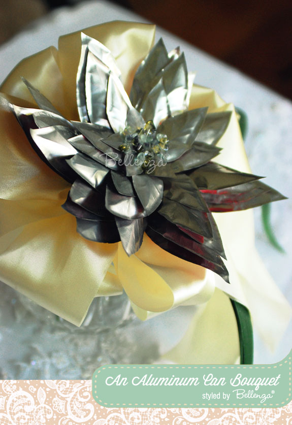 Soda can bouquet | as styled by the Wedding Bistro at Bellenza
