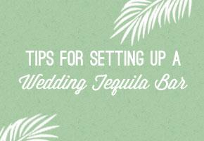 Tequila wedding bar tips