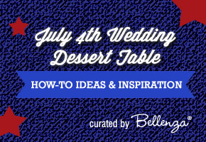 July 4 Wedding dessert tables ideas