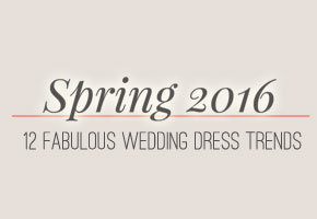 Spring 2016 bridal gowns