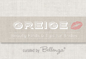 Greige bridal beauty