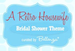 Retro bridal shower