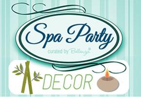 Spa bridal shower ideas