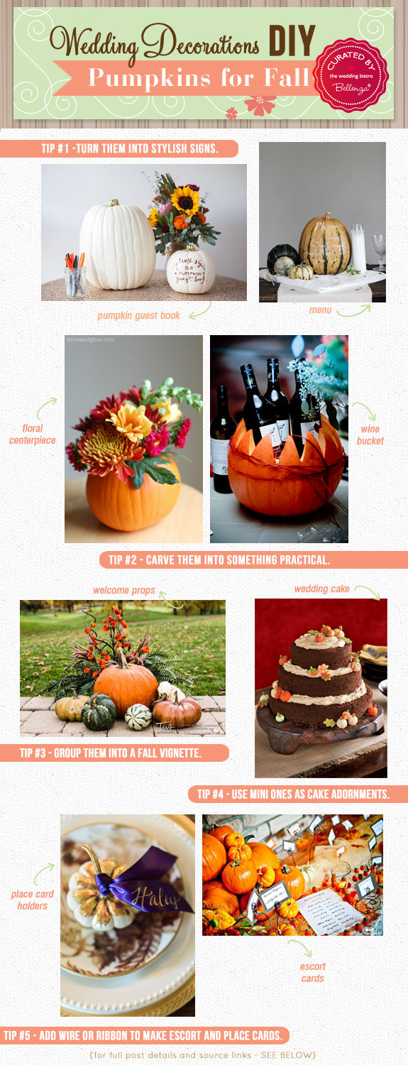 Creative DIY Pumpkin Decorations for Your Wedding