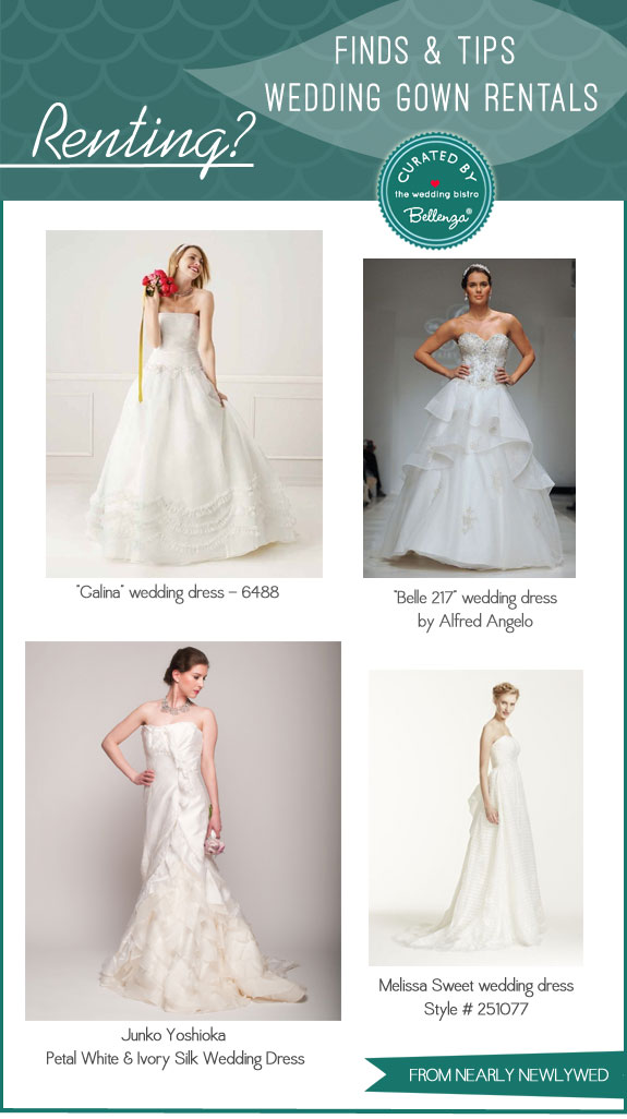 Nearly Wed Gowns | Finds and Tips for Renting Bridal Gowns by Bellenza