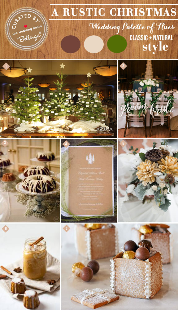 Coffee and Spice Color Inspiration for an Intimate Winter Wedding #winterweddings