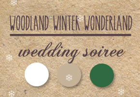 Winter woodland color palette inspiration by Bellenza