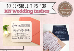 Sensible diy invitations