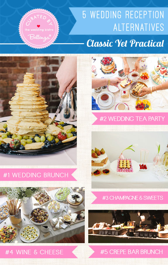 5 Wedding Reception Alternatives that are Classic Yet Practical