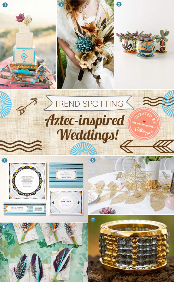 Aztec-inspired Weddings for Summer! Featured on the Weddinng Bistro on Bellenza.