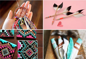 Boho Aztec and Southwest-inspired Favor Ideas that are Crafty!