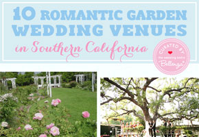 Romantic garden venues Los Angeles