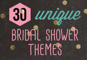 Unique Bridal Shower Themes from Bellenza