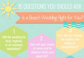 Beach wedding questions by Bellenza.