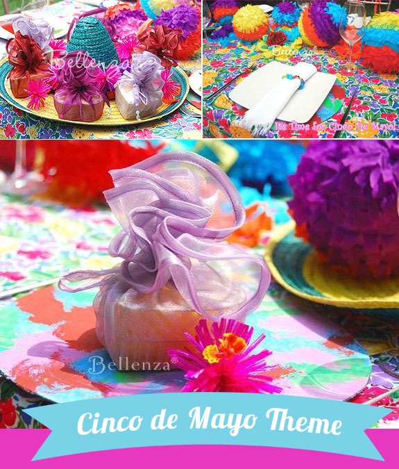 Cinco de Mayo Theme bridal shower theme