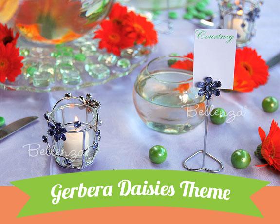 Gerbera Daisy bridal shower