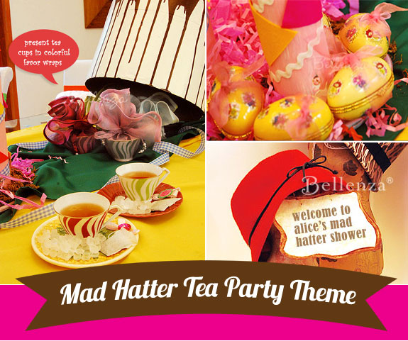 Mad Hatter Tea Party Shower