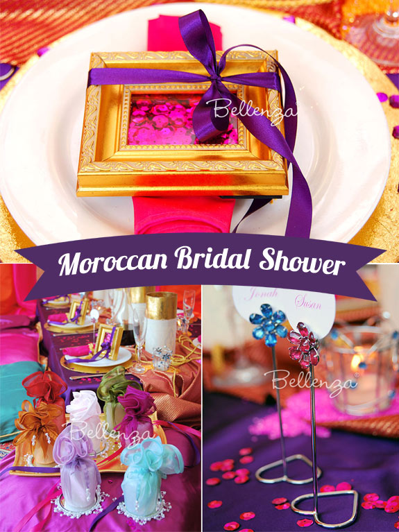 Moroccan Party Shower