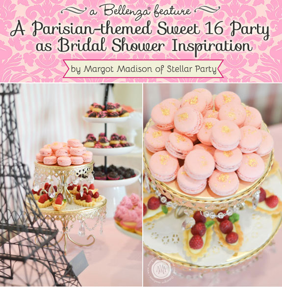 Parisian bridal shower party theme