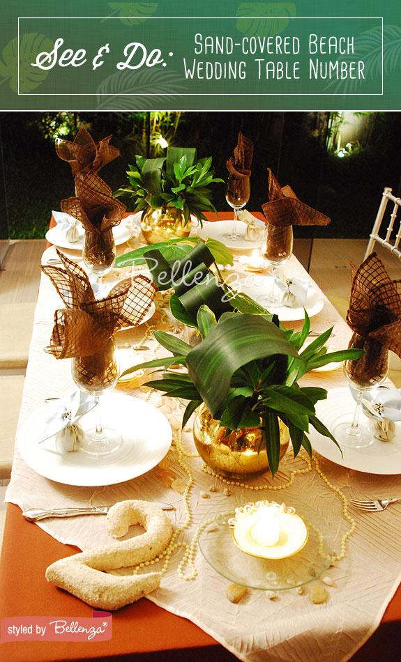 Sand table decorations