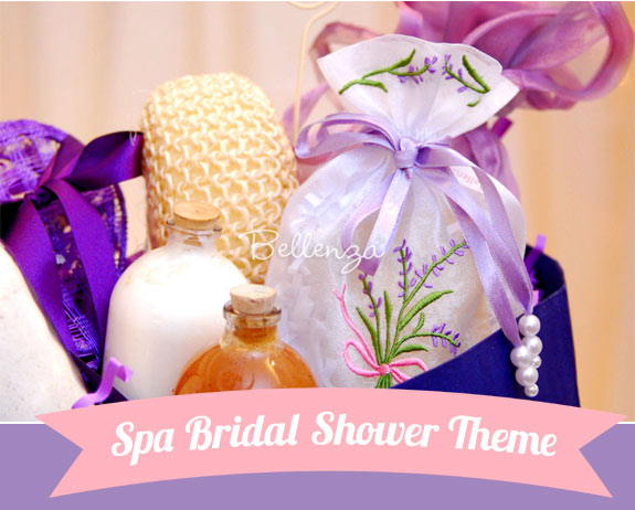 Spa Themed Bridal Shower