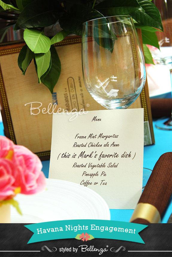Havana Nights Reception Theme - The Bellenza Wedding Blog