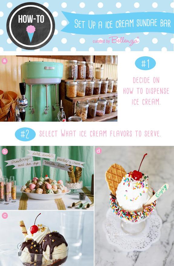 Diy Ice Cream Sundae Bar Set Up Ideas For Weddings