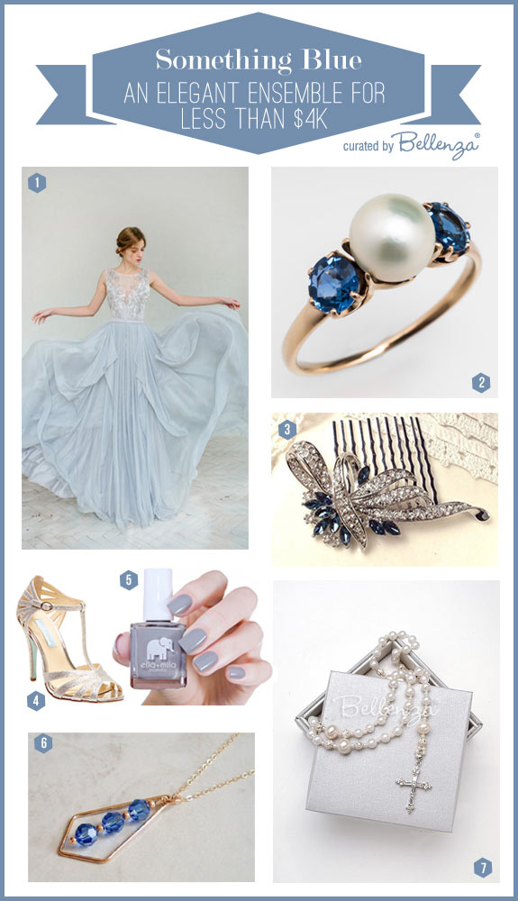 Something blue for summer brides