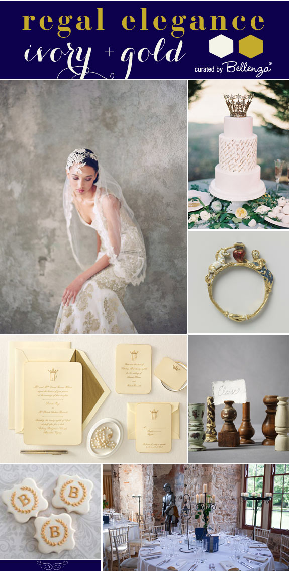 Renaissance-inspired Chess Wedding Theme // curated finds by Bellenza