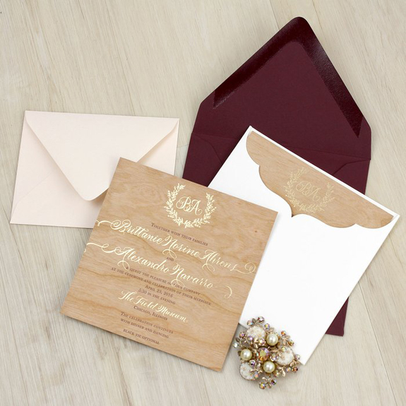 Invitation suite by Real Card Studio